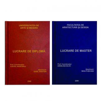 Coperti lucrari diploma